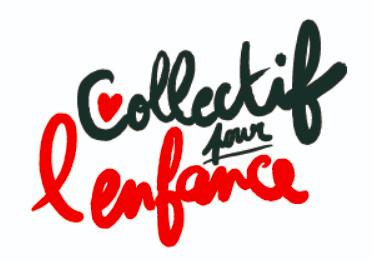 Un site pour le Collectif pour l'enfance