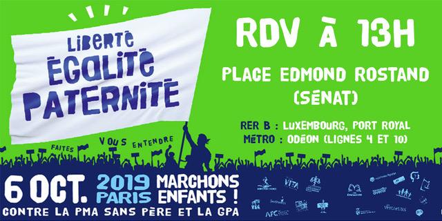 Marchons pour les droits de l'enfant ! Manifestation nationale unitaire le dimanche 6 octobre 2019 à Paris