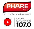 Olivia Sarton sur PHARE FM Lyon Dauphiné du 18 au 22 mai à 8h30 et 18h15