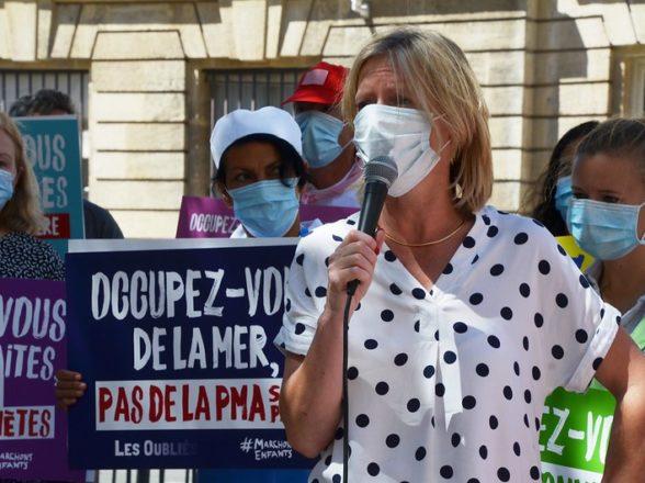 PMA : Aude Mirkovic devant l'Assemblée nationale le 27/07/20