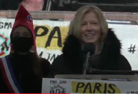 Discours Aude Mirkovic le 31 janvier à Paris #MarchonsEnfants