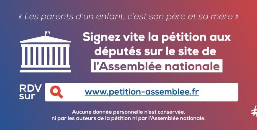 Signez une proposition de loi pour définir les parents d'un enfant